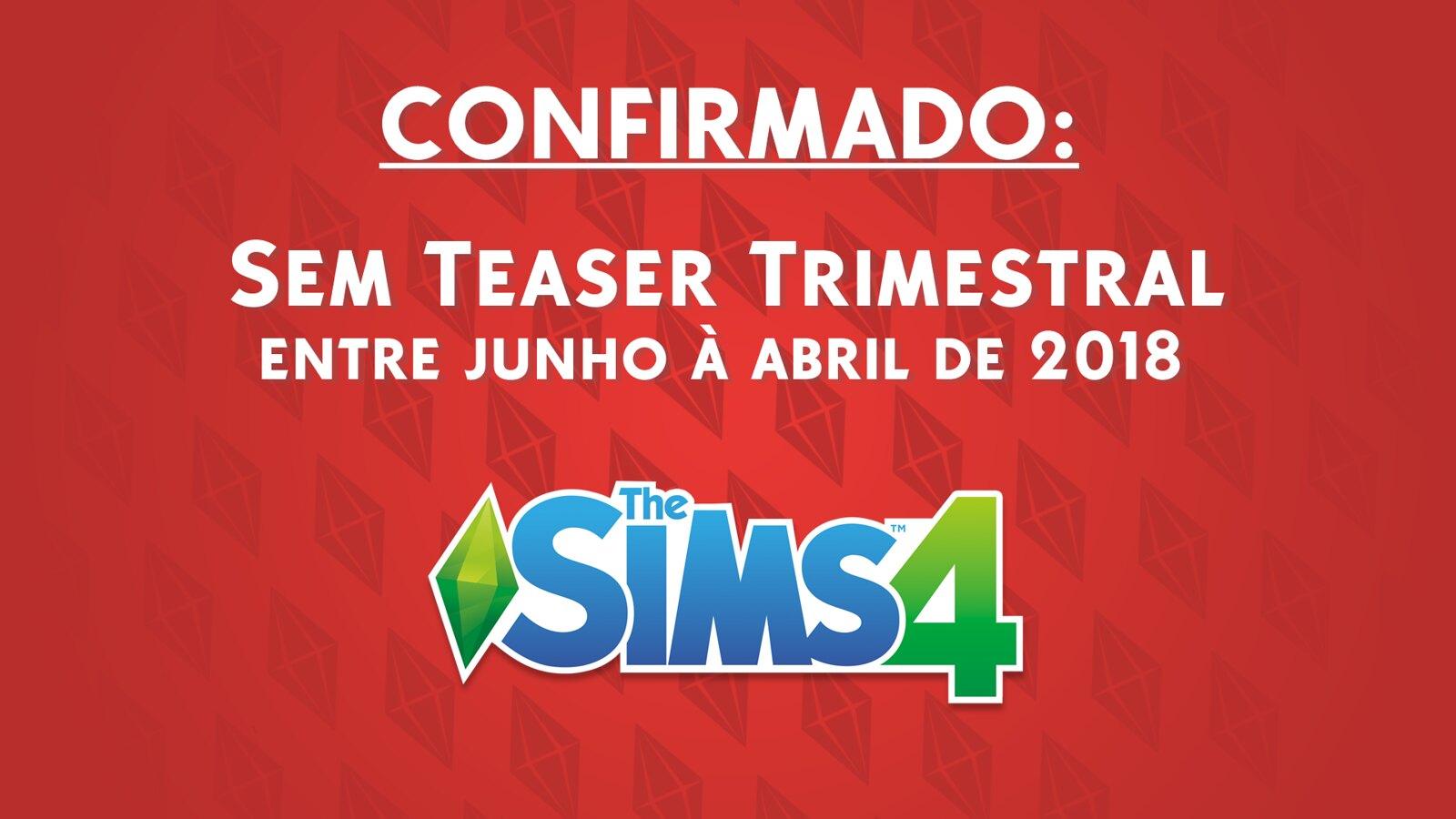 Foto de Não Haverá Teaser Trimestral para o The Sims 4 em Abril de 2018