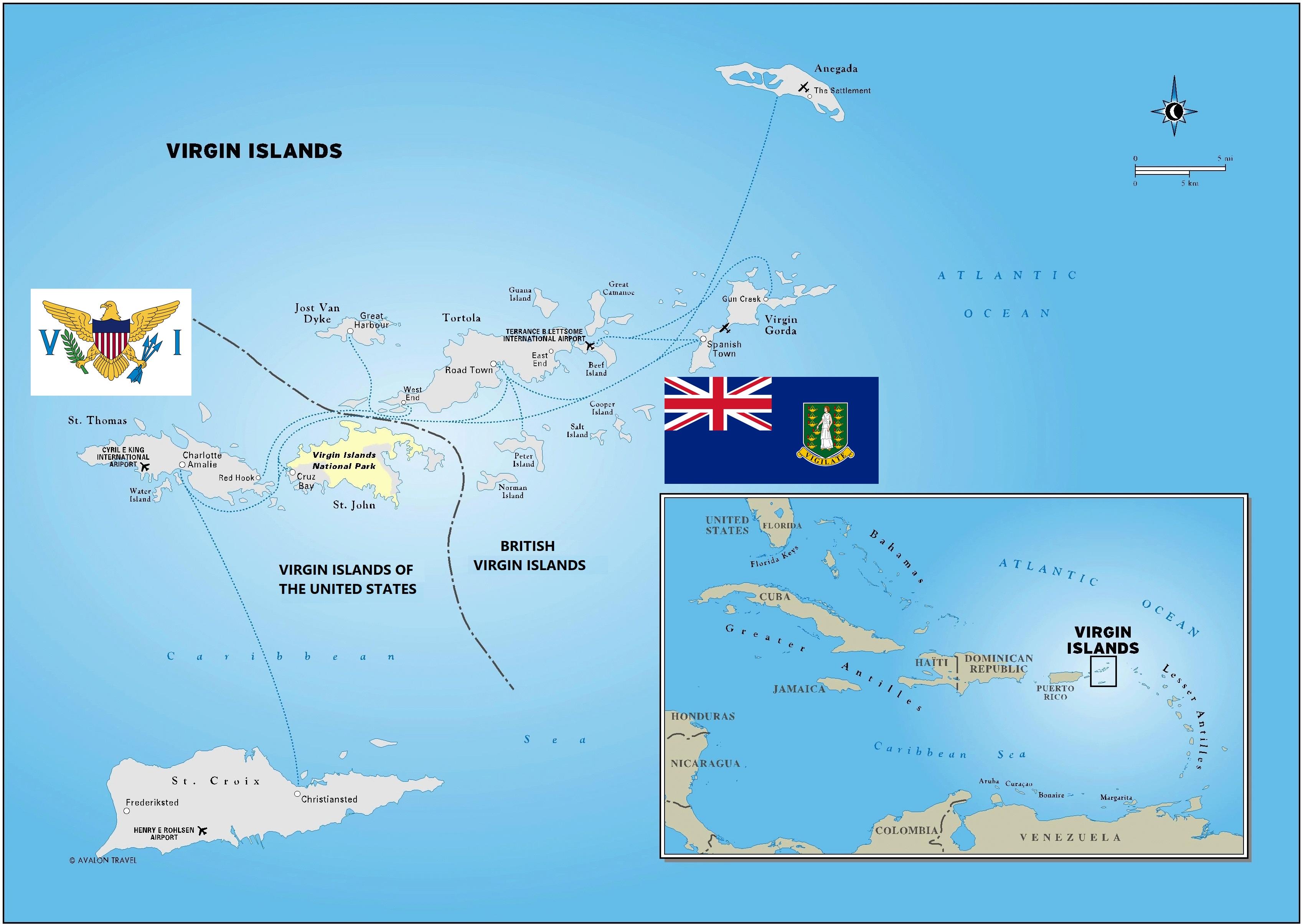 The U.S. Virgin Islands – A Stamp A Day