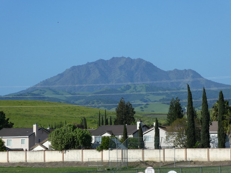 8 April 2018 - Mount Diablo and Green Foot Hills