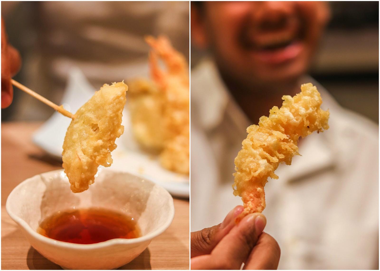 tempura collage