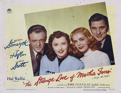 The Strange Love of Martha Ivers - lobbycard 1