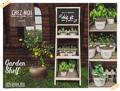 Garden Shelf CHEZ MOI
