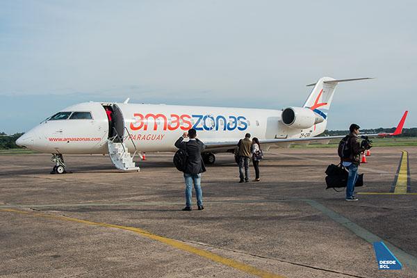 Amaszonas Paraguay CRJ200 en ASU (Naoto Goto)