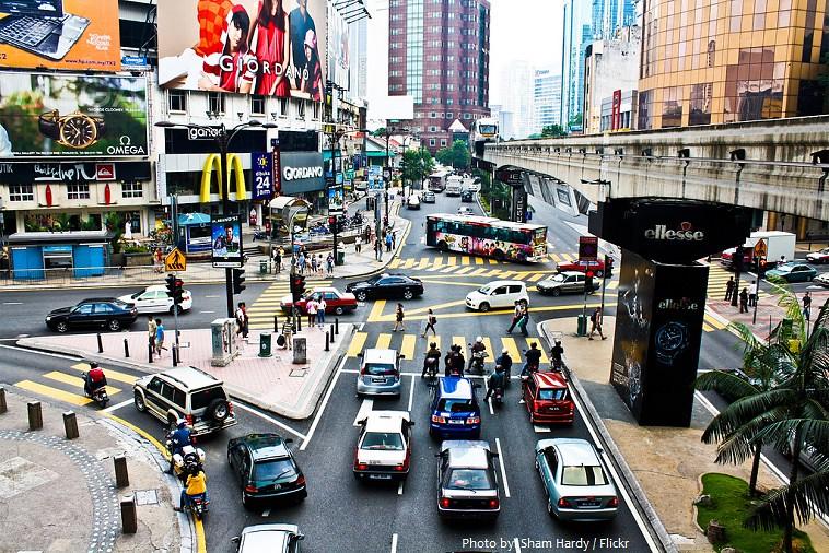 Kuala Lumpur - Bukit Bintang Alışveriş Meydanı