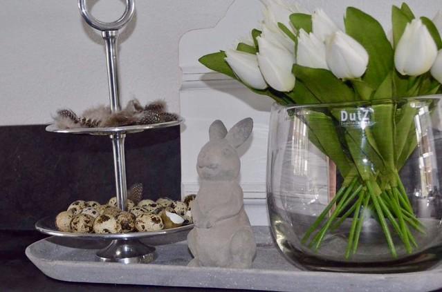 Tulpen en etagere