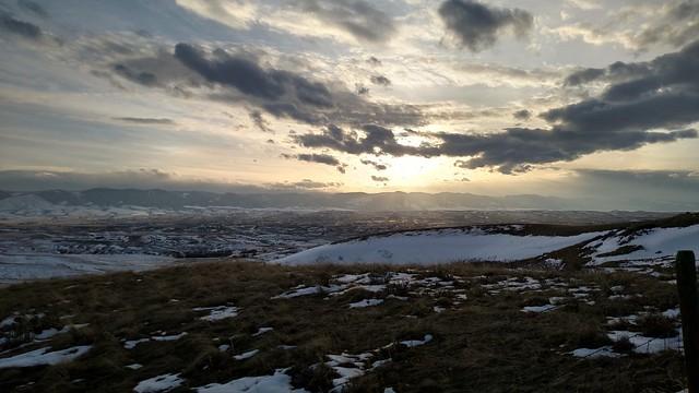 Bozeman Trail overlook