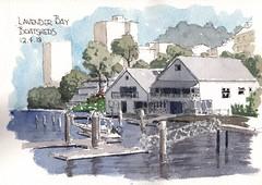 Lavender Bay Boatsheds