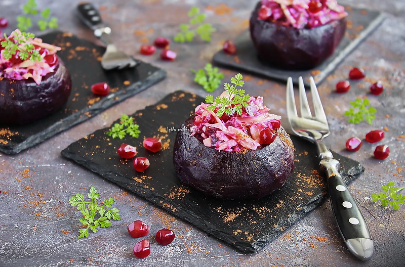 ...stuffed beetroot with cheese and pomegranate_1