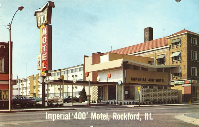 Imperial '400' Motel - Rockford, Illinois