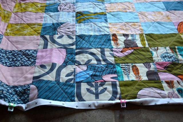 WIP: 2 x 4 quilt