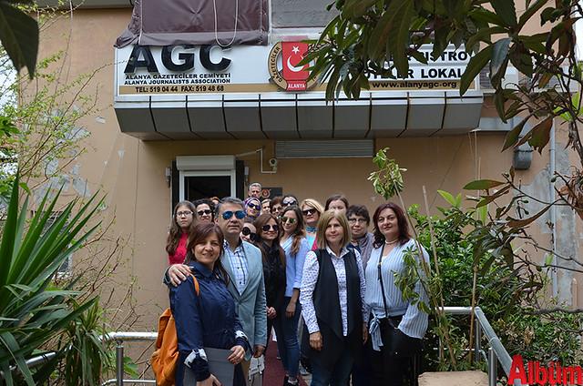 Antalya Basın Yayın Enformasyon İl Müdürlüğü 8 Mart Dünya Kadınlar Günü Alanya Gezisi -3