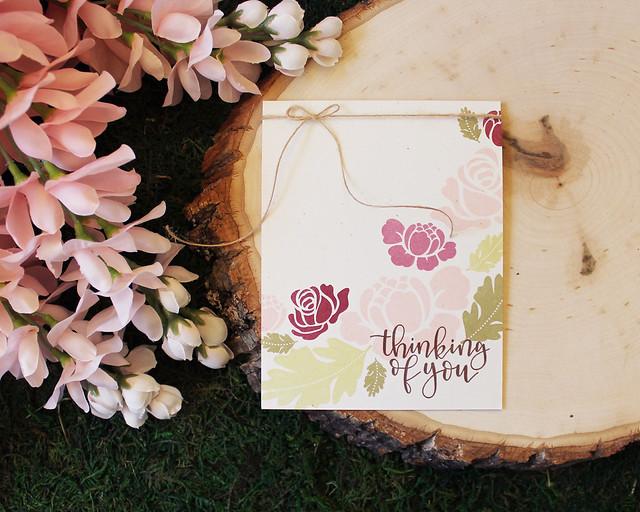 LizzieJones_SimpleToSpectacular_PapertreyInk_RosiePosie_ThinkingOfYou_Simple_Card_1