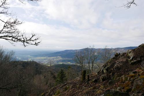 Vue sur la vallée de Masevaux