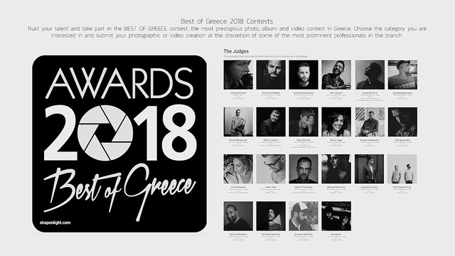 Alejandro Calore JUROR at BEST OF GREECE 2018