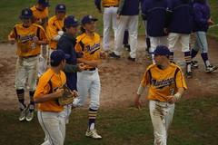 Varsity Boys Baseball vs. Livingston 125