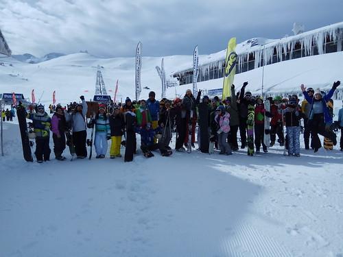Programa Nieve Joven en Sierra Nevada