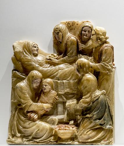 Monasterio de Sijena, fragmento del Retablo de Santa Ana