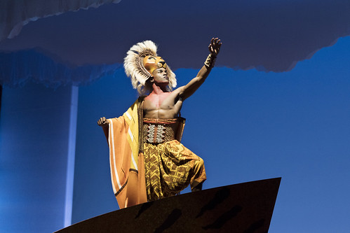 Gerald Caesar as Simba. From We Just Can't Wait...Why You Need to See the Lion King On Tour