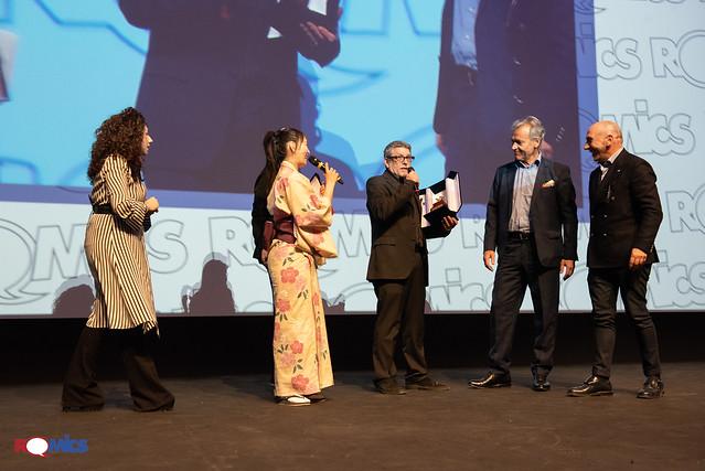 Massimo Rotundo Romics d'Oro XXIII edizione