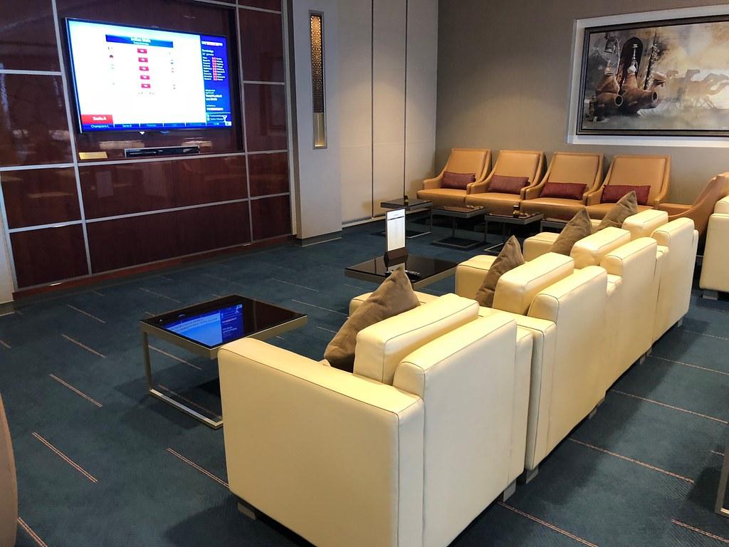 Emirates Lounge Milan MXP 53