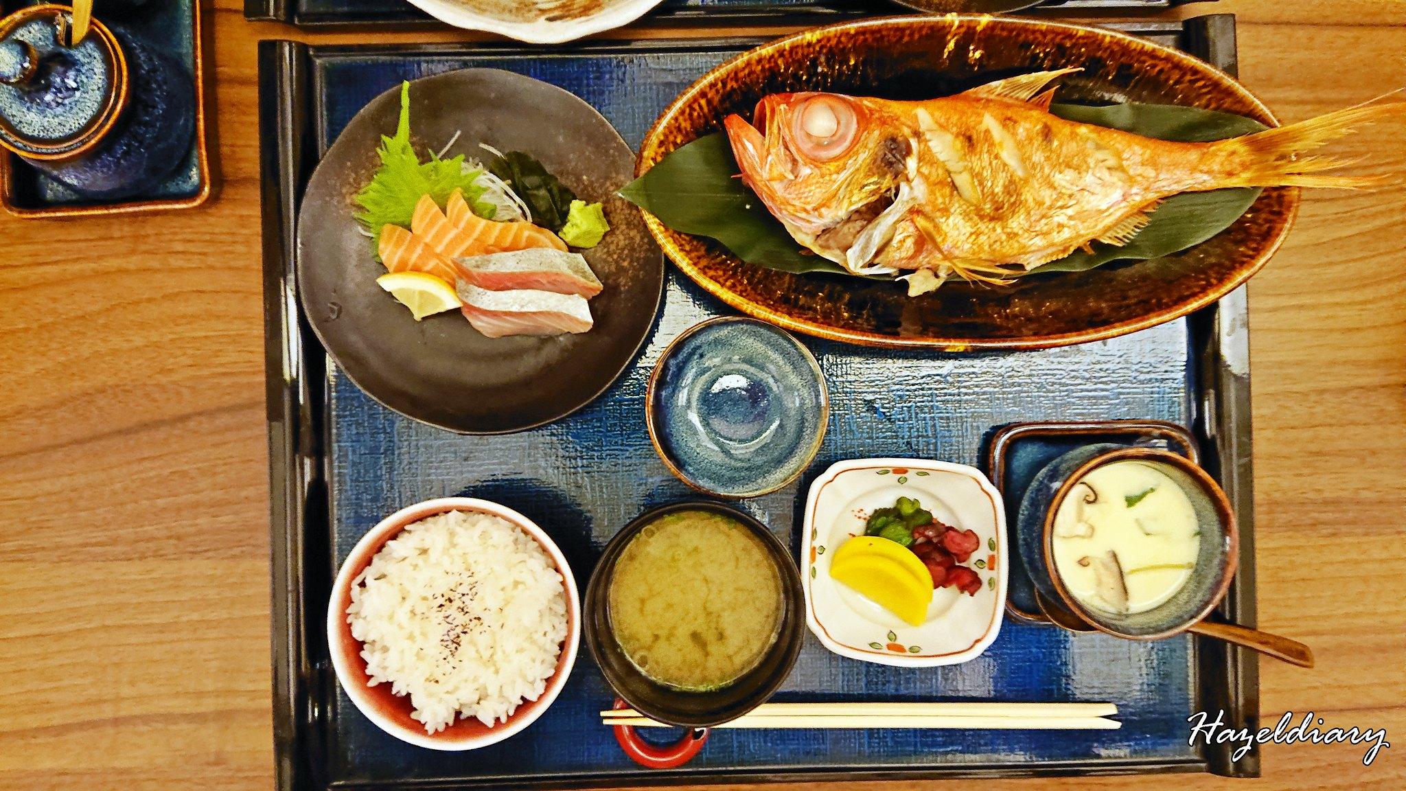 Mitsu Spring Menu-Grilled Fish Set