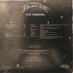 J.O.B. ORQUESTRA:OPEN THE DOOR TO YOUR HEART(JACKET B)