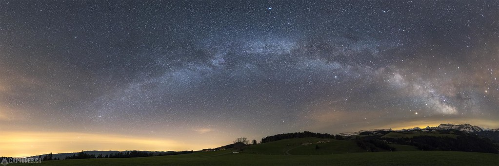 Milky waxy panorama - Blapbach