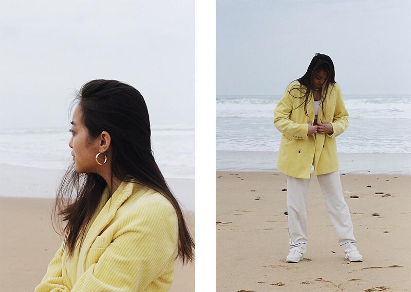 téva sartori blazer jaune 4