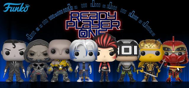 一次收集完拯救「綠洲」的超技五將!! Funko POP! MOVIES 系列《一級玩家》Ready Player One 角色人偶