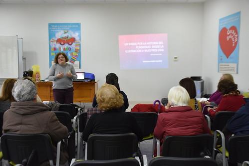 Conferencia de la historia del feminismo del Encuentro por una ciudadanía plena