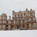Snow in front of Wollaton Hall