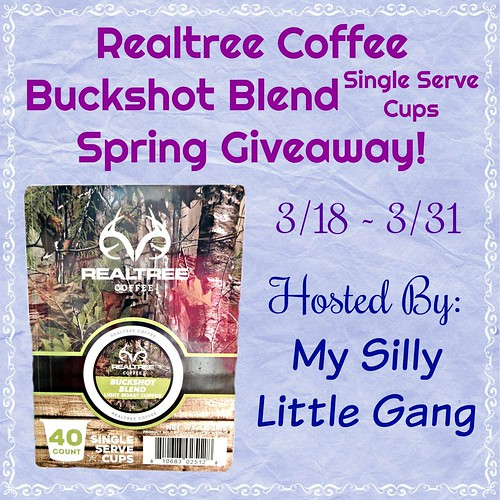 Realtree Coffee Buckshot Blend Spring Giveaway