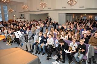 Gnosjö Missionskyrka fylldes av brass och människor