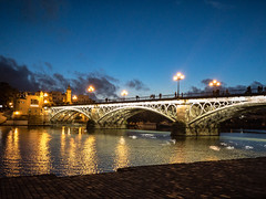 The bridge at Triana