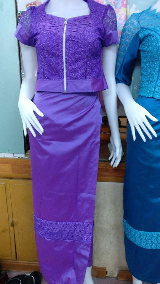 Myanmar Dress Collection