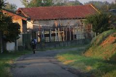20120914 18 015 Jakobus Weg Häuser Farewell Pilger Gerard - Photo of Mérenvielle