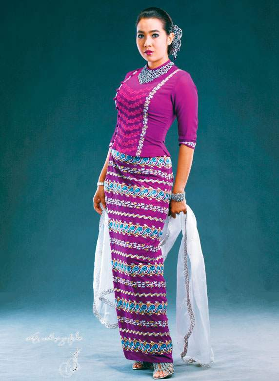 Myanmar Cotton Dress