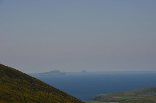 Der Blick auf die Berge von der Dingle Halbinsel