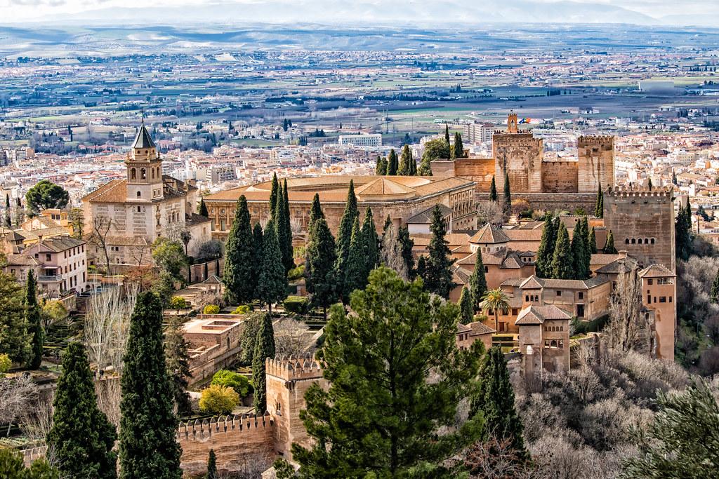 vue sur l Alhambra de granada