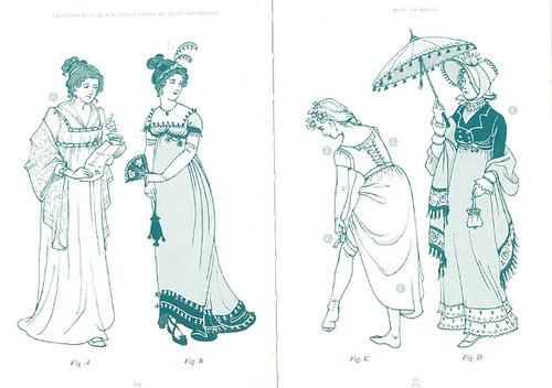 奥斯丁时代Lady的服饰