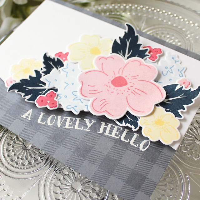 LizzieJones_PapertreyInk_FloralSketches_LovelyHello_Card2