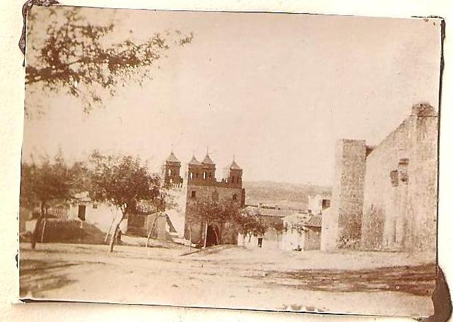 Puerta del Cambrón en Toledo en 1898. Anónimo Francés.