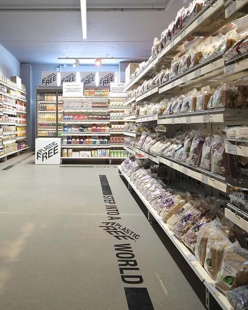 Plastic-free aisle