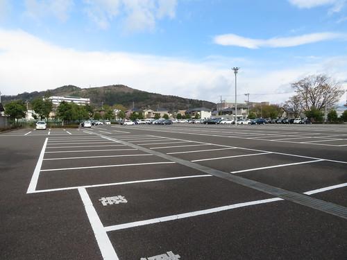福島競馬場の第6駐車場