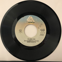 RAY PARKER JR. & RAYDIO:A WOMAN NEEDS LOVE(JUST LIKE YOU DO)(RECORD SIDE-B)