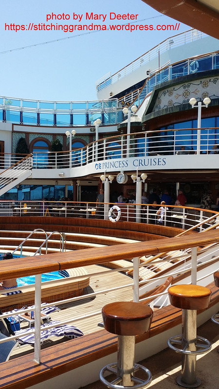 A favorite spot on the Ruby Princess