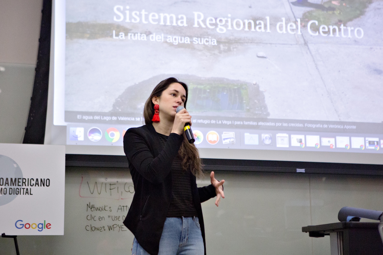 Helena Carpio de Prodavinci, Venezuela. (Foto: Mary Kang).