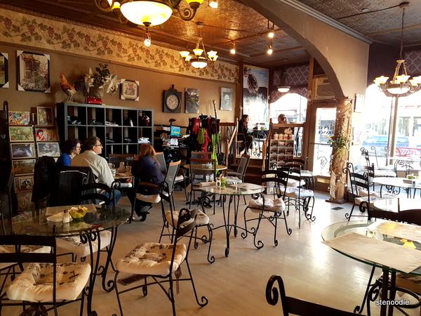 Dreamers' Cafe interior