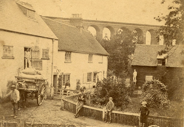 Digswell Mill & Viaduct, c.1870