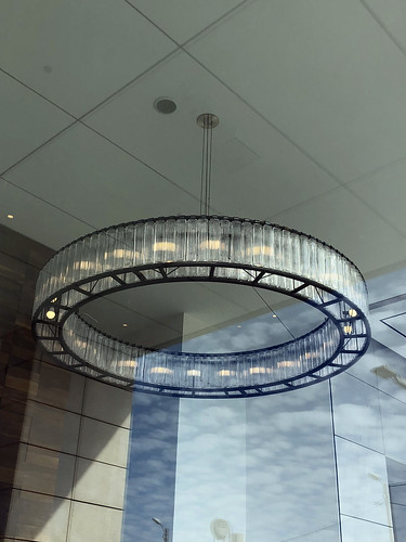 Glass chandelier | by SkyWookiee